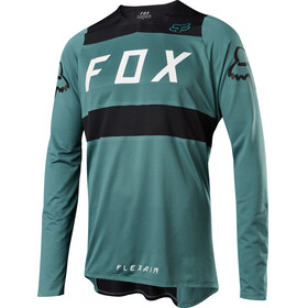 Fox Flexair Long Sleeve Jersey Men green/black